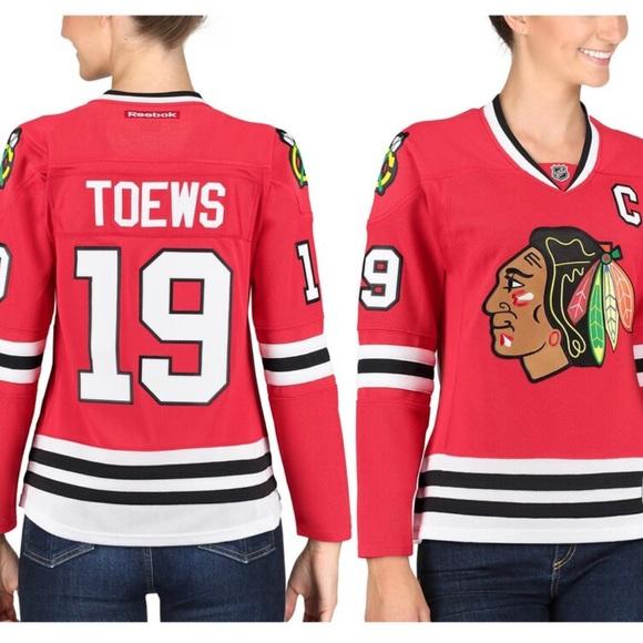 sale retailer 0e4b6 1d864 Toews Chicago Blackhawks Jersey